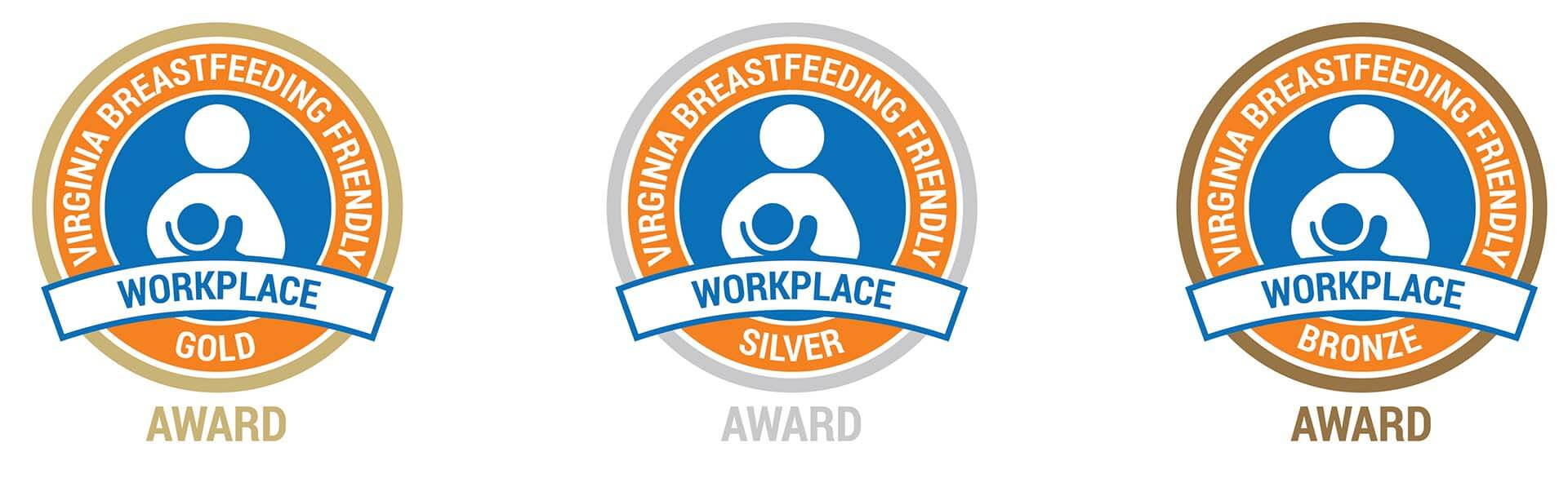 Virginia Breastfeeding Recognition Program Awards